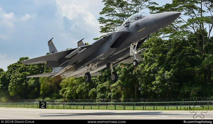 RSAF Ex Torrent 2016 - F15SG