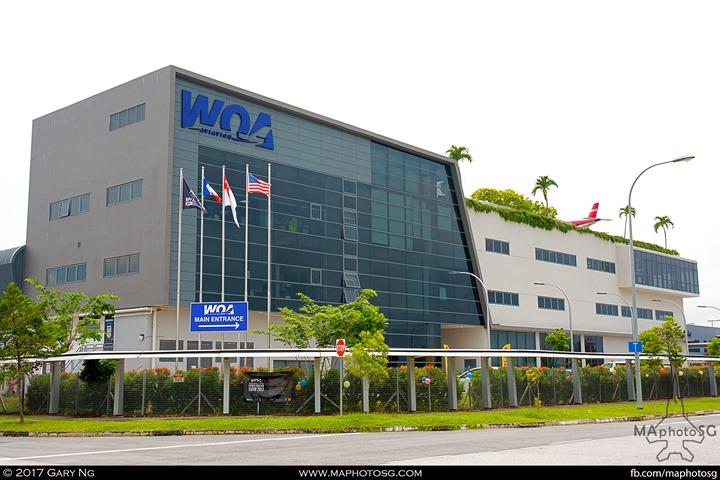 WingsOverAsia Building at Seletar Aerospace View