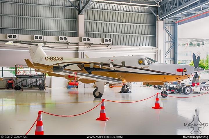 Pilatus PC-12/45 at WingsOverAsia