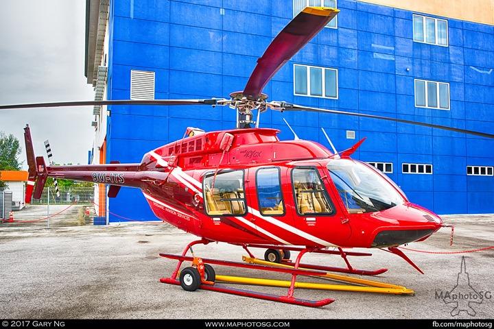 Bell 407GX at WingsOverAsia