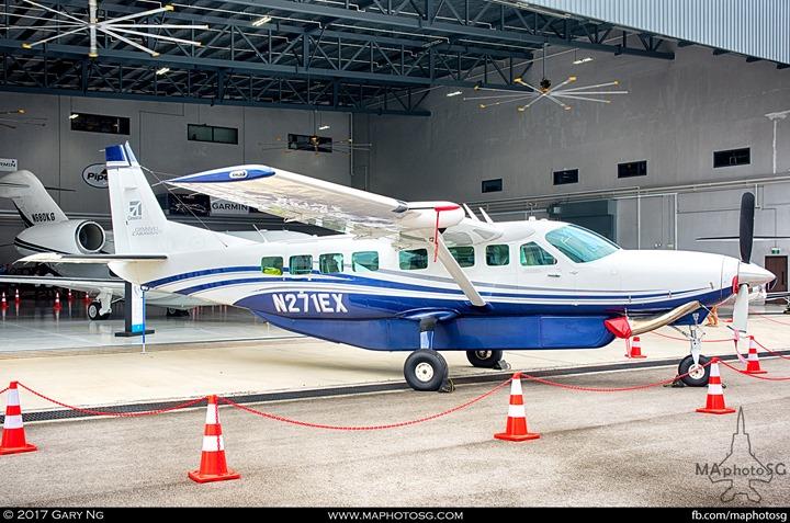 Cessna 208B at WingsOverAsia