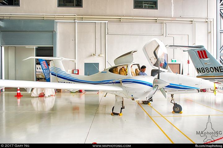 Diamond DA42 NG at WingsOverAsia