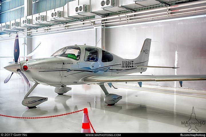 Cirrus SR22 at WingsOverAsia