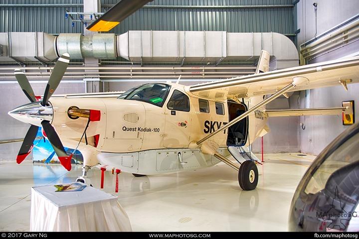 Quest Kodiak 100 at WingsOverAsia