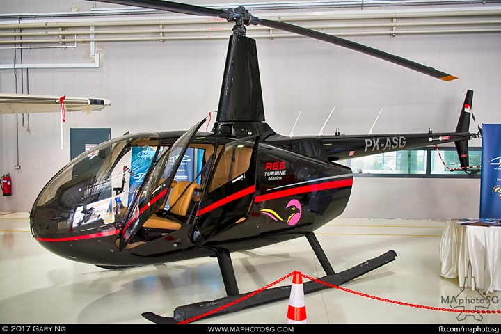 Robinson R66 at WingsOverAsia