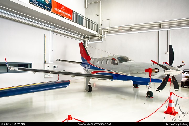 Socata TBM 700 at WingsOverAsia