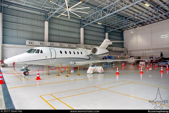 Cessna 750 Citation X+ at WingsOverAsia