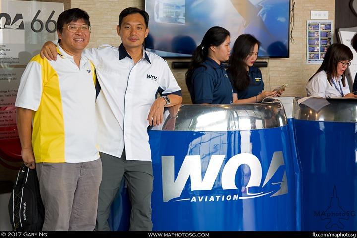 Ng Yeow Meng with MAphotoSG Editor Gary Ng
