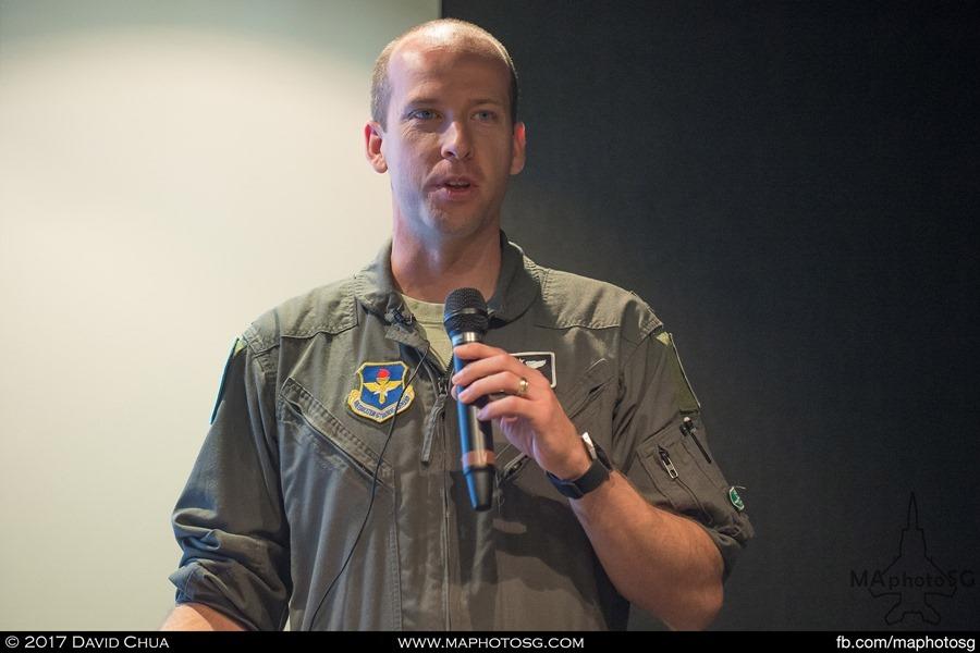 USAF F-35 Pilot LTC Scott 'Cap' Gunn