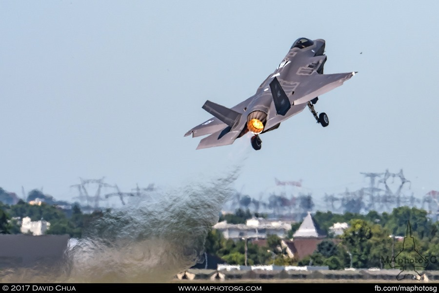 F-35A Maximum Power Takeoff