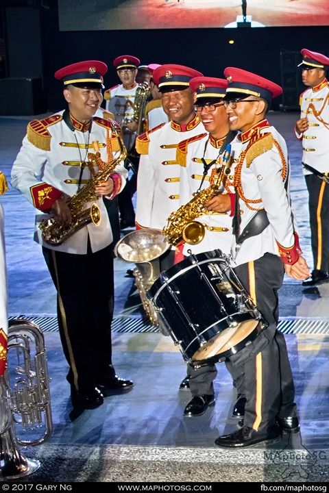 centric projects in collaboration with the Defence Technology community, performances by the SAF Central Band, SAF Military Police Silent Precision Drill Squad and SAF Music & Drama Company, and the Battlefield