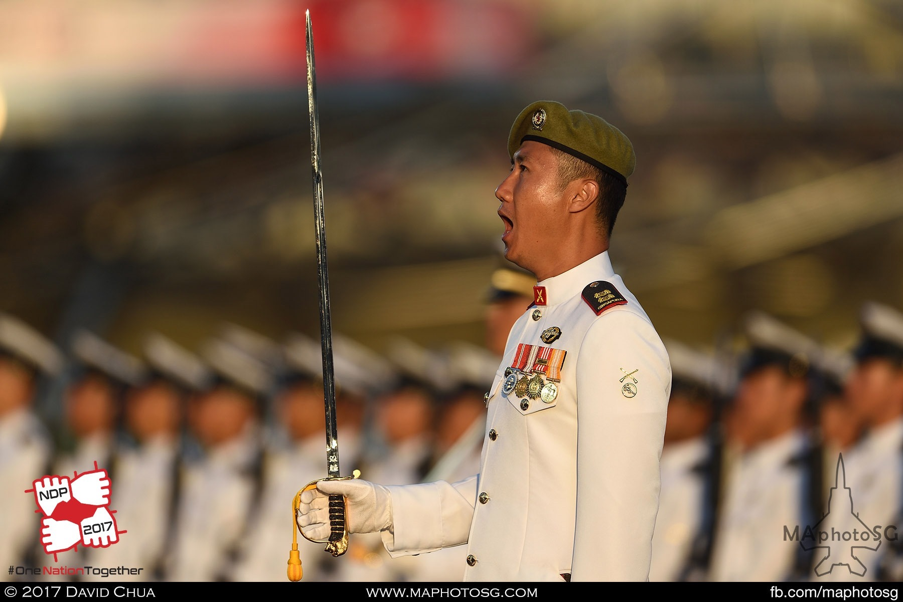 18. Parade Commander, Lieutenant Colonel (LTC) (NS) Lim Wee Tee of the 821st Battalion, Singapore Infantry Regiment (SIR).