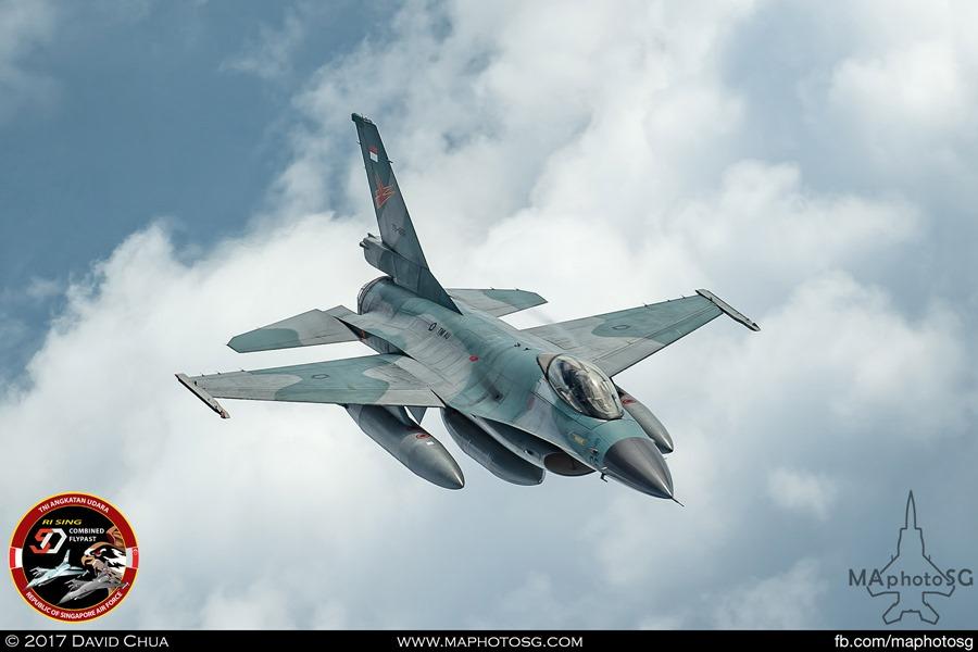 An F-16 of TNI-AU's Skadron Udara 16, based at Roesmin Nurjadin Air Force Base, Pekanbaru