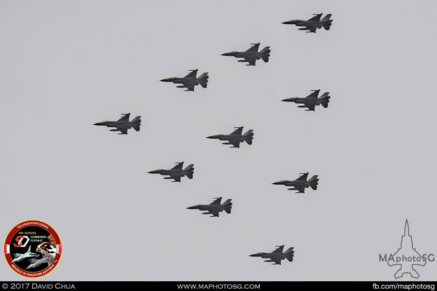 RSAF Arrow Formation