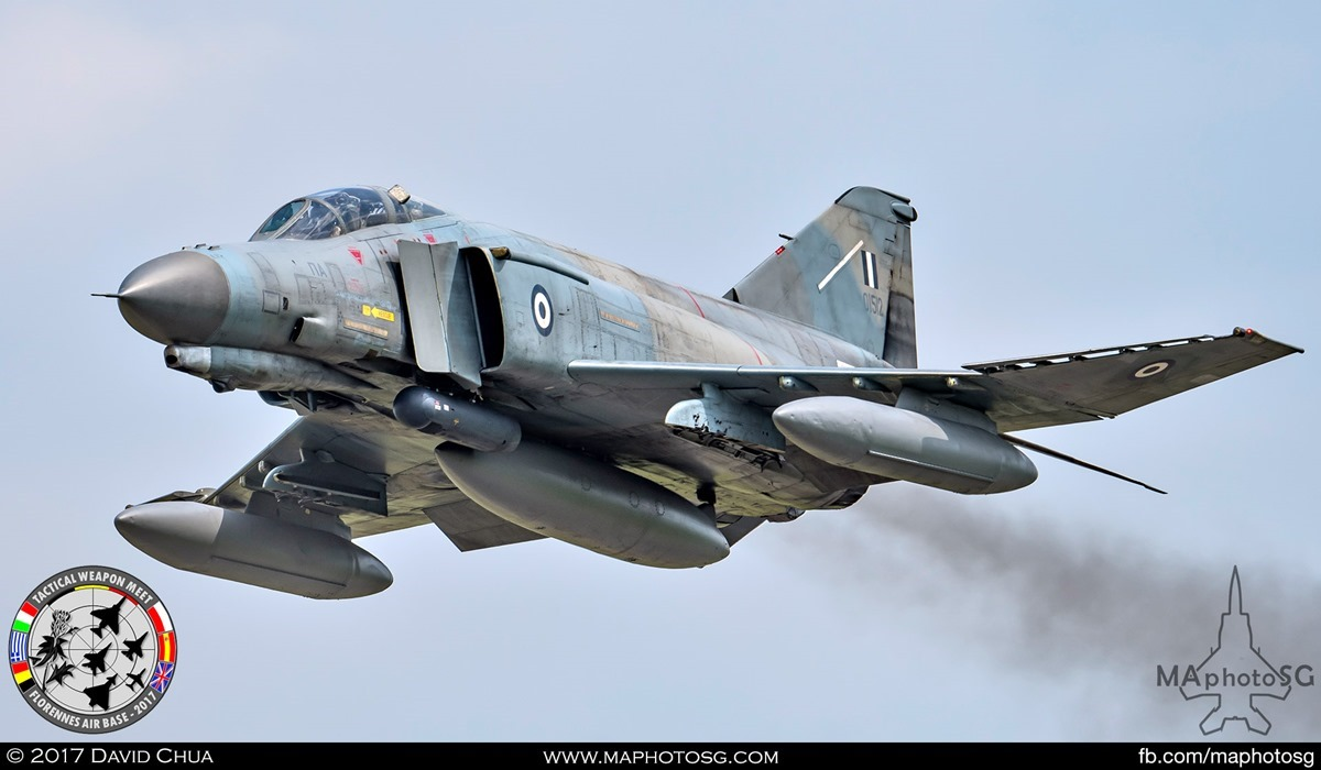 39. Hellenic Air Force F-4E Phantom II (01512) from 338 Mira