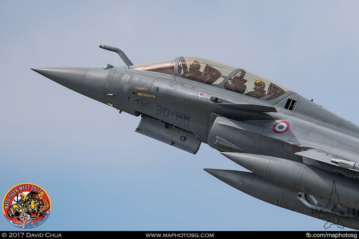 French Air Force Rafale B (30-HM)