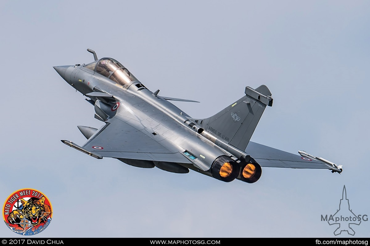 French Air Force Rafale C (30-GY)