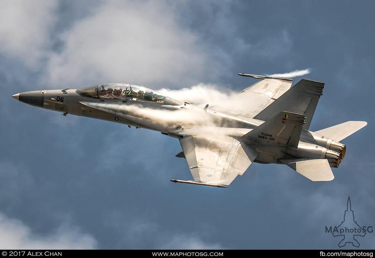 RMAF F/A-18D Hornet at LIMA 2017