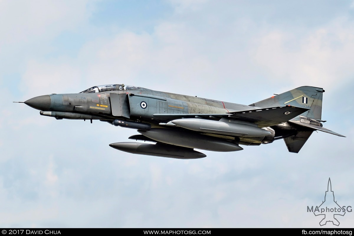 Hellenic Air Force 338 MIRA F-4E Phantom II (01534)