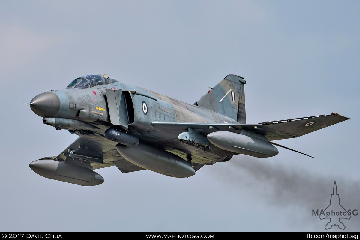 Hellenic Air Force 338 MIRA F-4E Phantom II (01512) front view