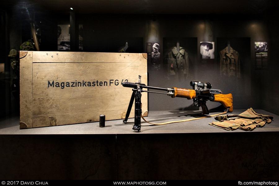 German FG-42 Machine Carbine or Light Machine Gun issued to Airborne Troops