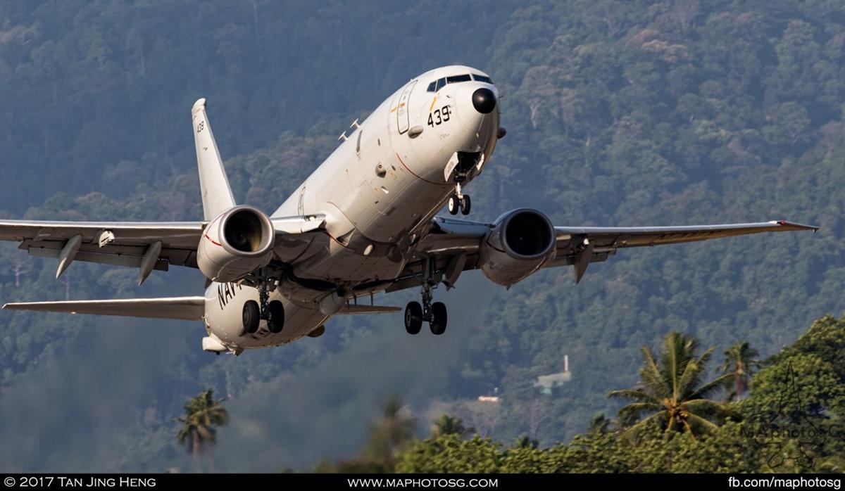 USN P8A depart LIMA17
