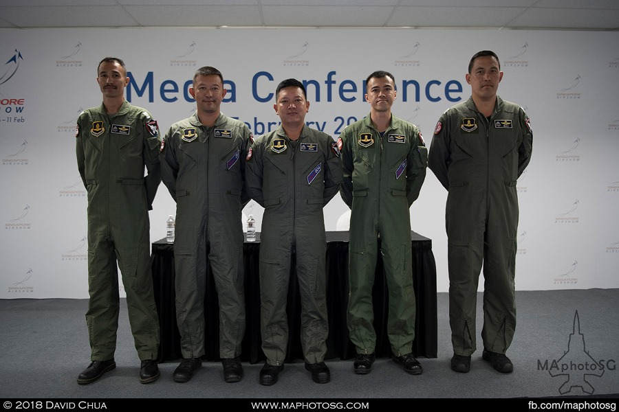 RTAF JAS-39C Gripen demonstration team pilots and crew