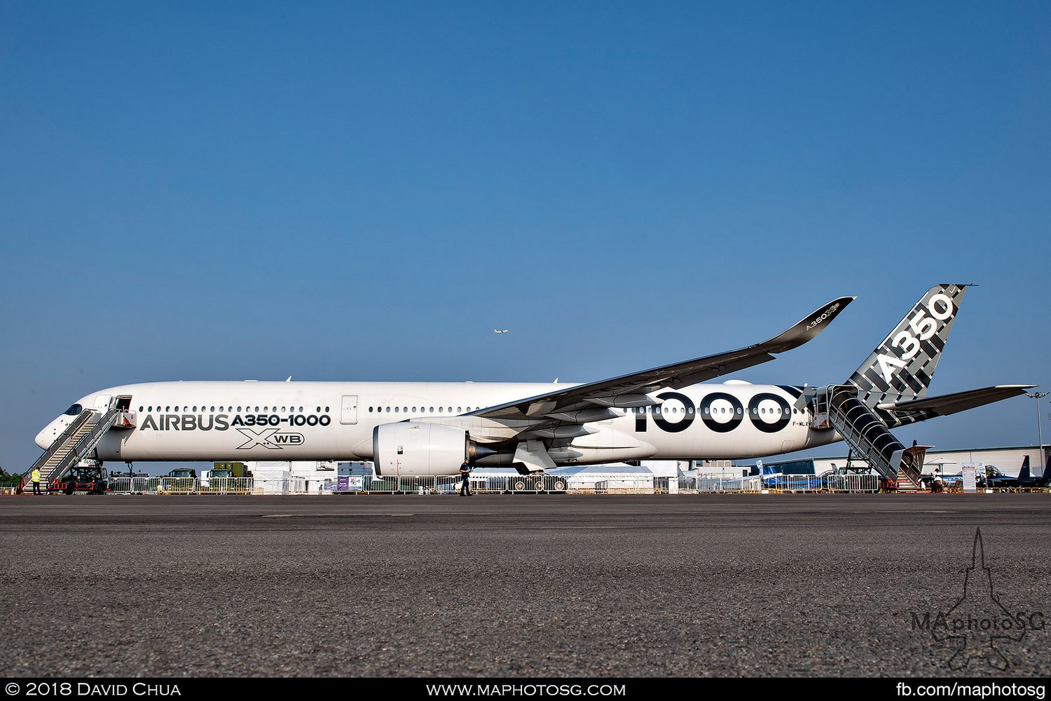 Airbus A350-1000 Carbon Livery (F-WLXV)