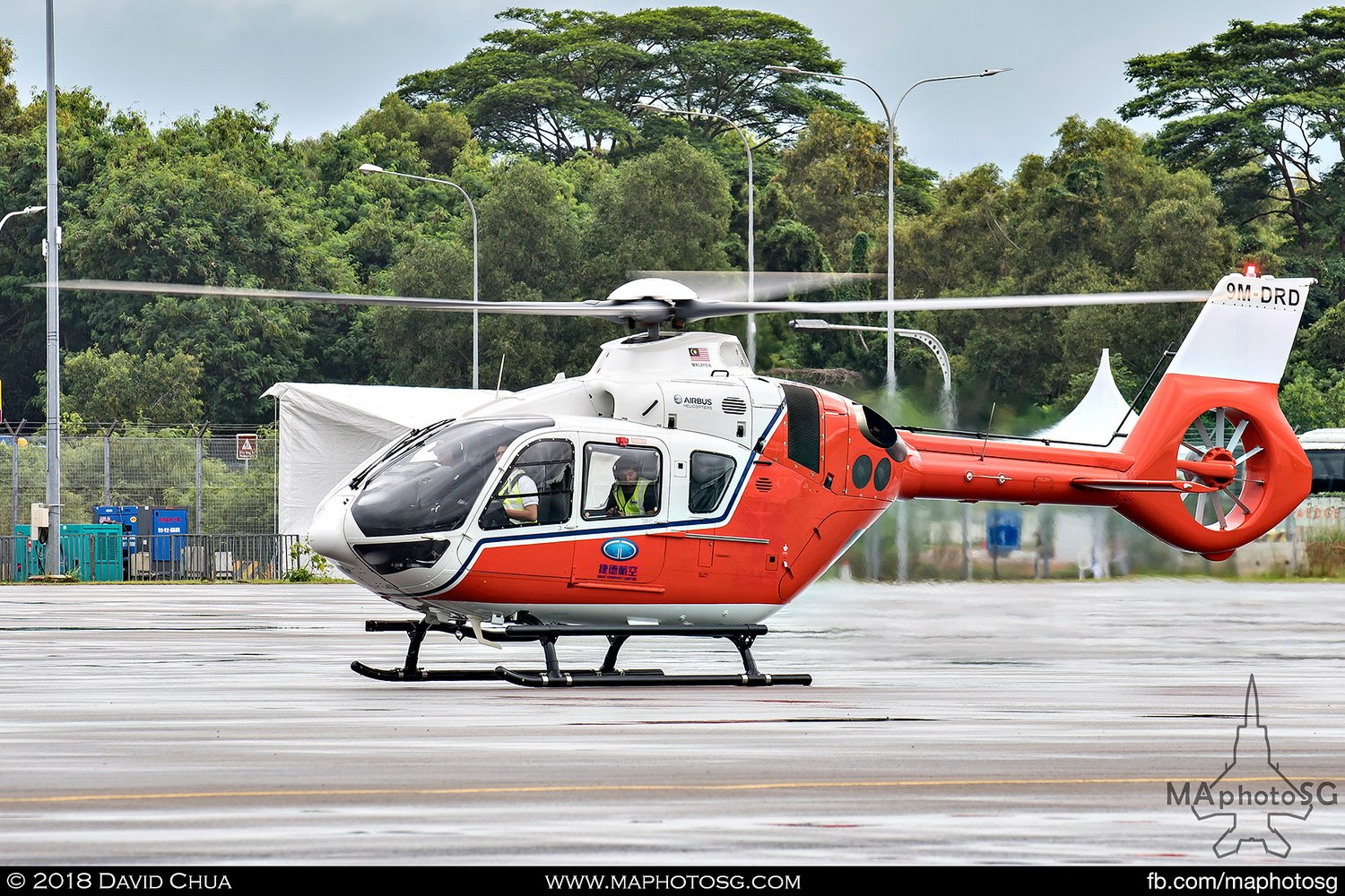Airbus Helicopters H135 (9M-DRD)