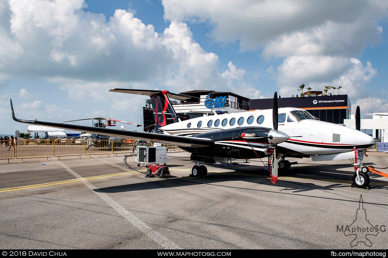Textron Aviation Beechcraft King Air 350i (N350KF)