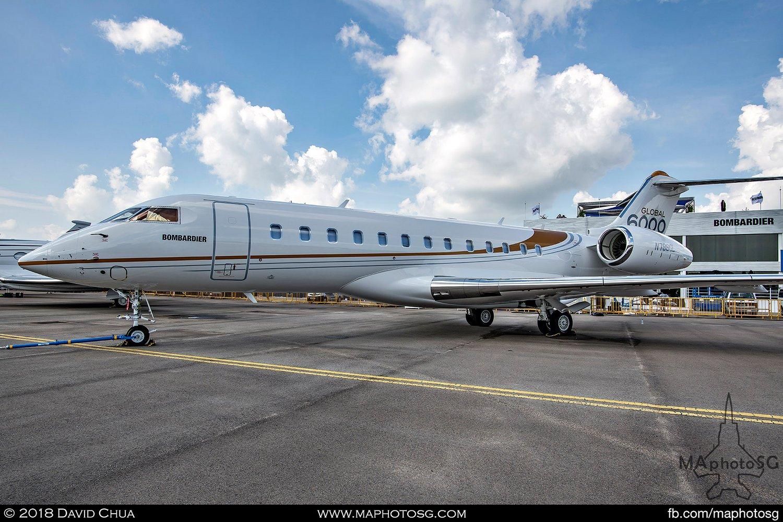Bombardier Global 6000 (N796GL)