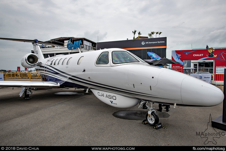 Textron Aviation Cessna Citation CJ4 (N215CJ)