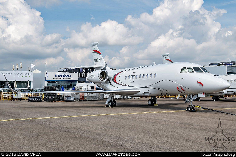 Dassault Aviation Falcon 2000 LXS (F-HNOA)