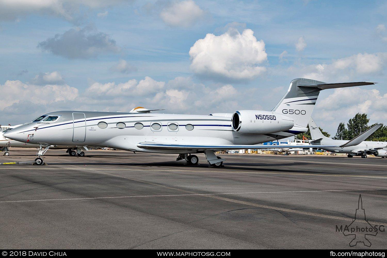 Gulfstream G500 (N505GD)