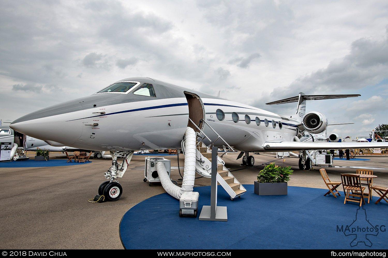 Gulfstream G550 (N550GA)