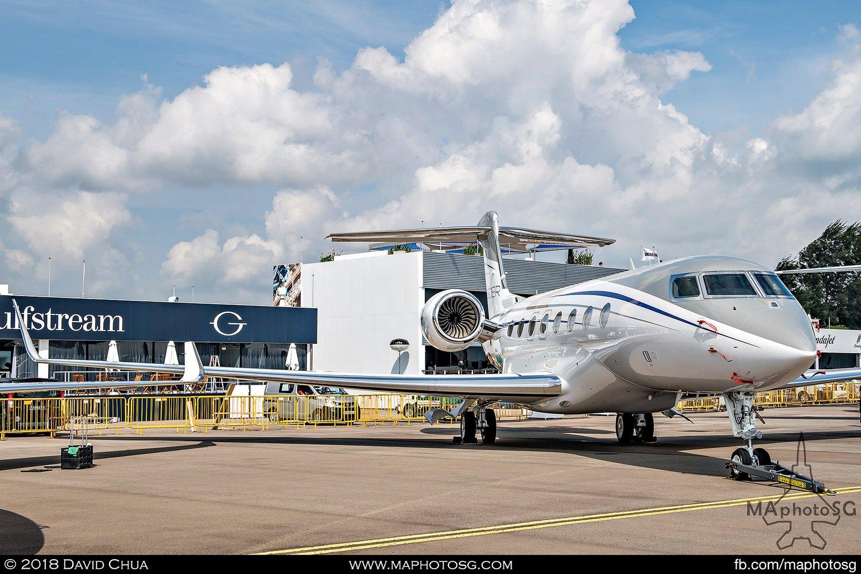 Gulfstream G650ER (N650GA)