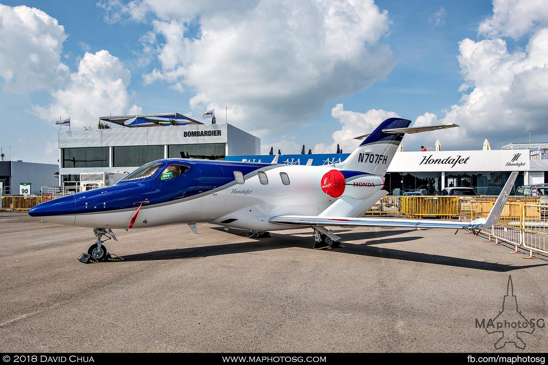 Honda Aircraft HA-420 HondaJet (N707FH)