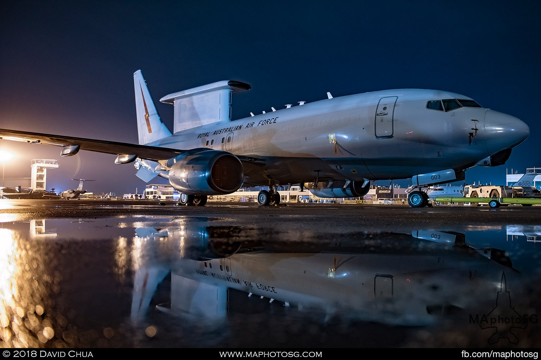 RAAF No 2 Sqn Boeing E-7A Wedgetail (A30-003)