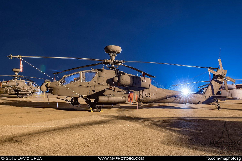RSAF 120 Sqn Boeing AH-64D Apache Longbow (058)