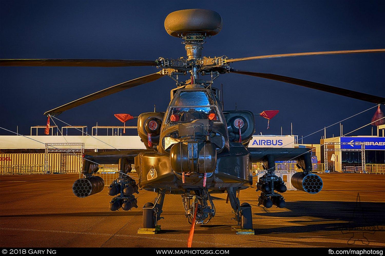 RSAF 120 Sqn Boeing AH-64D Apache Longbow (060)