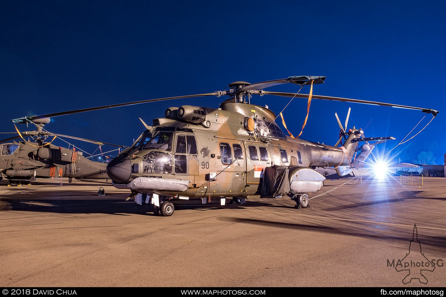 RSAF 125 Sqn Eurocopter AS332M Super Puma (290)