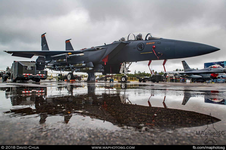 RSAF 142 Sqn Boeing F-15SG Strike Eagle (8316)