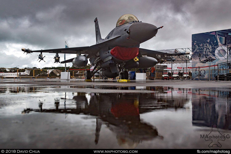 RSAF 140 Sqn Lockheed Martin F-16C Fighting Falcon (612)