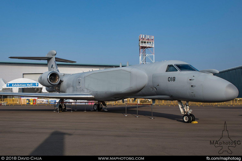 RSAF 111 Sqn Gulfstream G550 AEW (018)