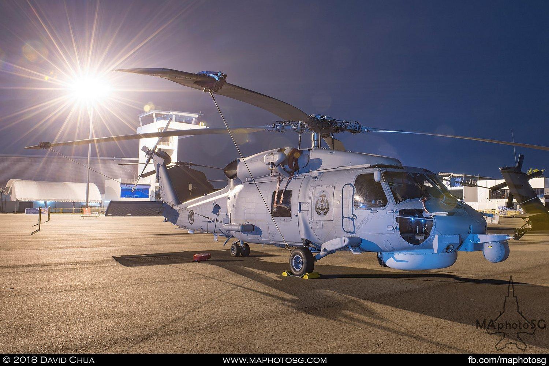 RSAF 123 Sqn Sikorsky S-70B Seahawk (253)