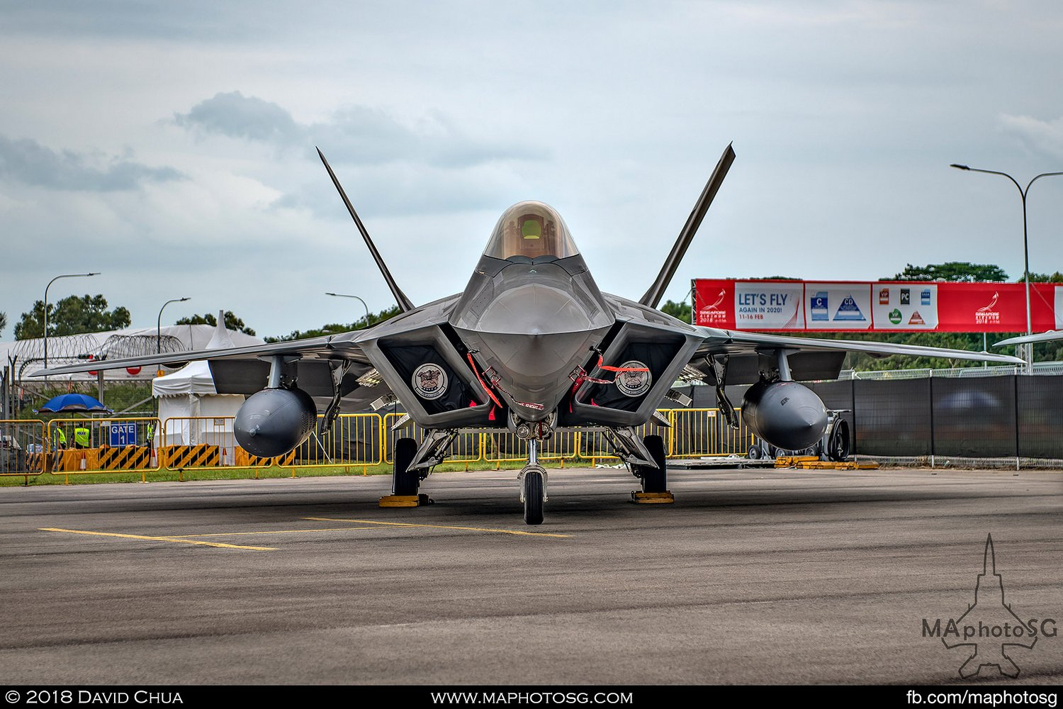USAF 525th FS Lockheed Martin F-22A Raptor (06-127)