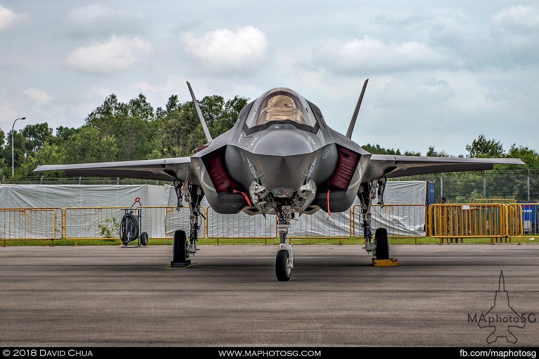 USMC VMFA-121 Lockheed Martin F-35B Lightning II (169166)