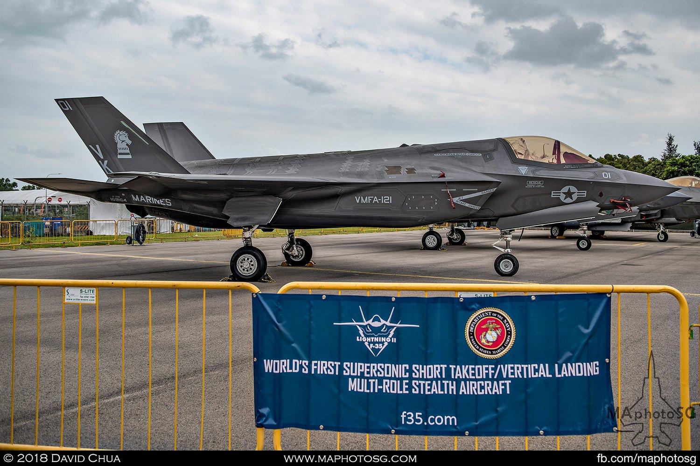 USMC VMFA-121 Lockheed Martin F-35B Lightning II (169164)