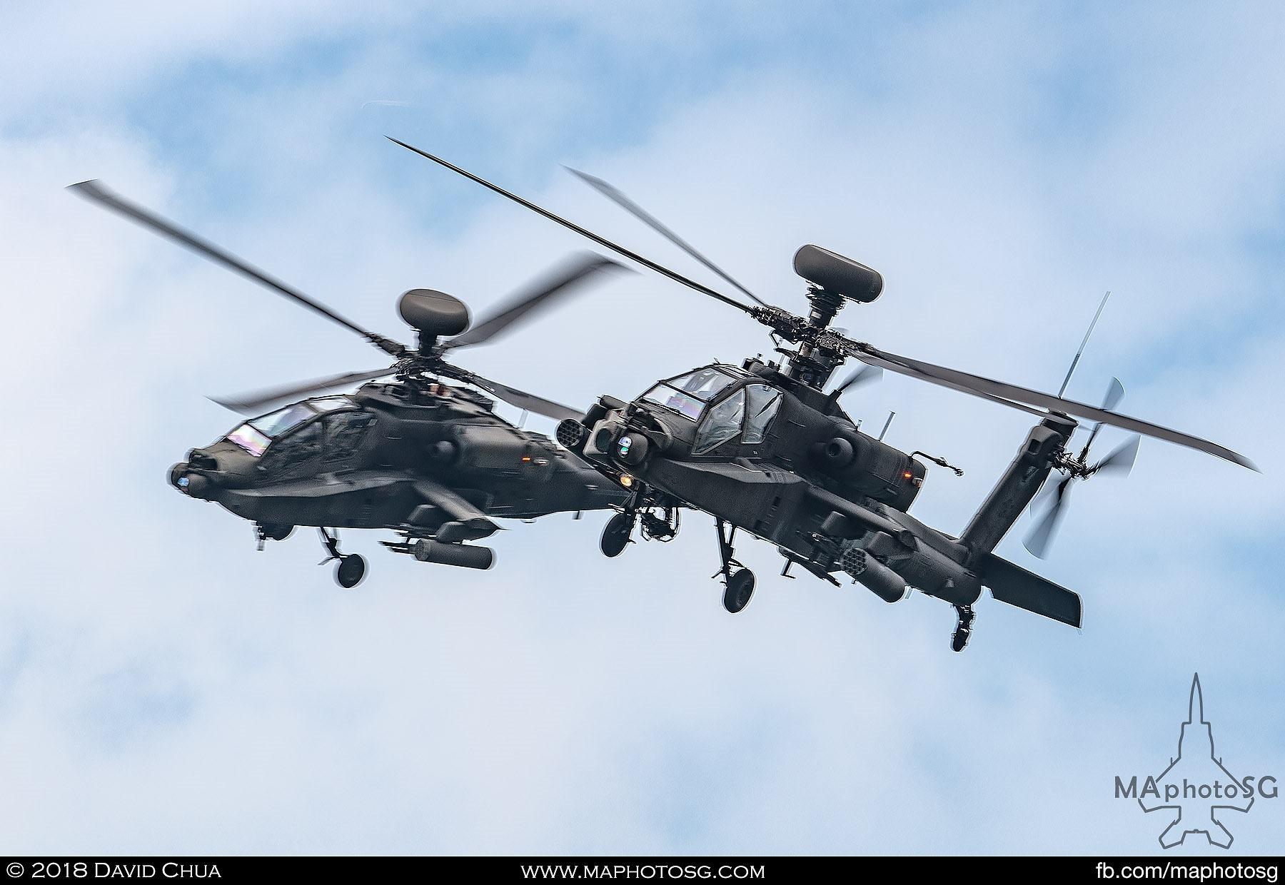 AH-64D Longbow Apache Aerial Display Segment