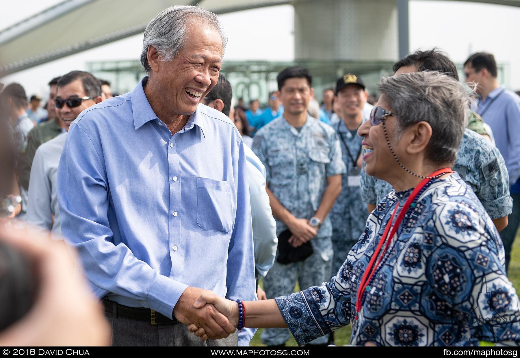 Minister of Defence Dr Ng Eng Hen